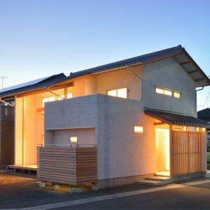 篠ノ井御幣川の和邸宅