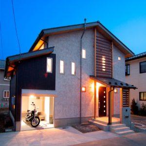 篠ノ井塩崎の邸宅